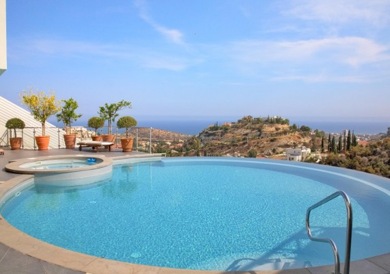 Luxury Sea View Villa Limassol