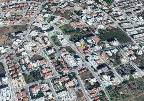 Plot For Sale Papas Area Limassol
