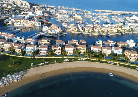 Limassol Marina Beachfront Villa For Sale